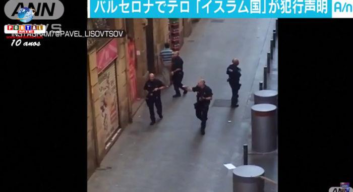 &nbspAtentado terrorista em Barcelona deixa 13 mortos e mais de 100 feridos