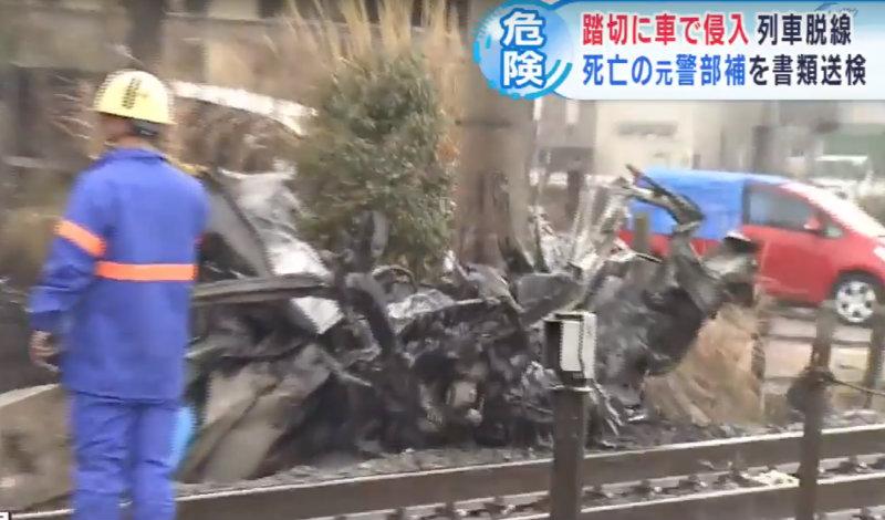 &nbspMotorista do veículo que chocou com o trem era policial e foi indiciado