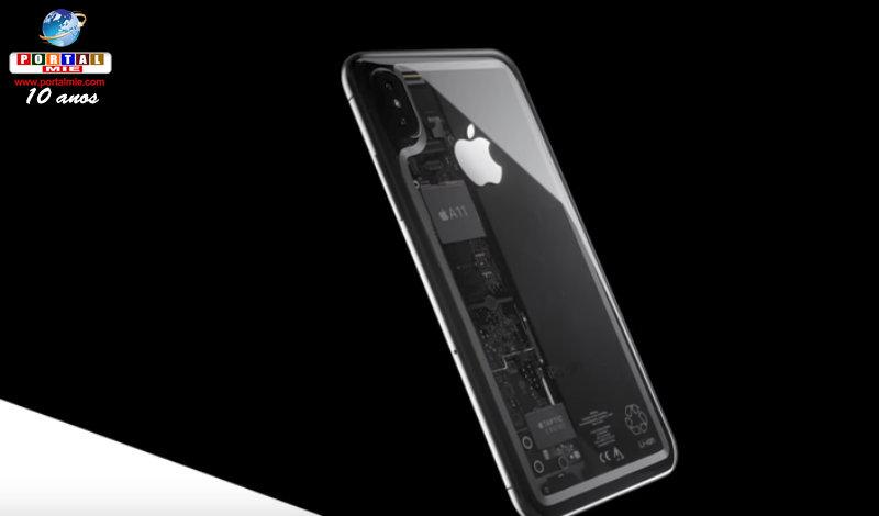 &nbspiPhone 8 pode ter edição transparente?