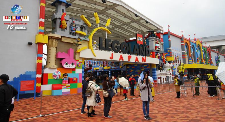 &nbspLegoland em Nagoia expandirá área do parque e terá mais atrações