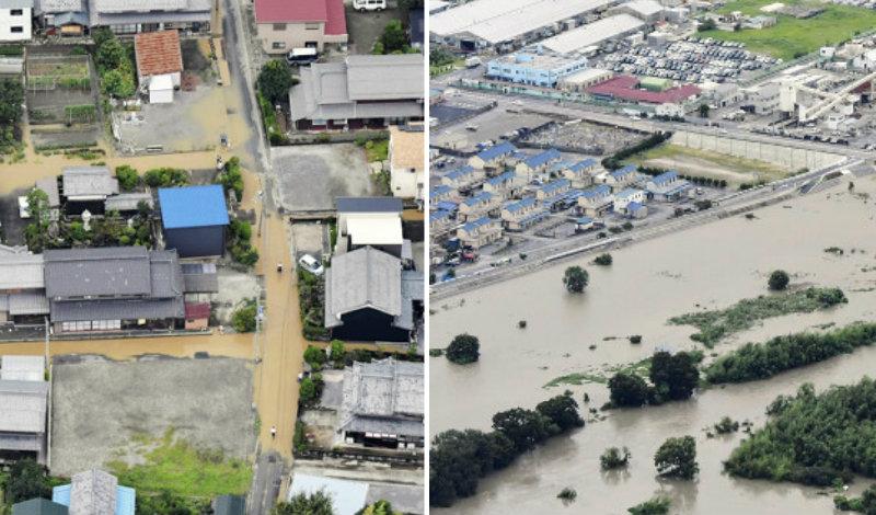 &nbspTufão n.º 5: 100 mil pessoas sob alerta de evacuação