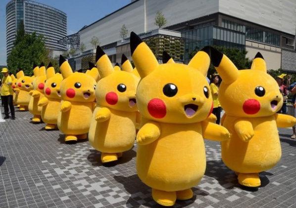 &nbspMais de 1.500 Pikachus desfilam em Yokohama em evento de 1 semana