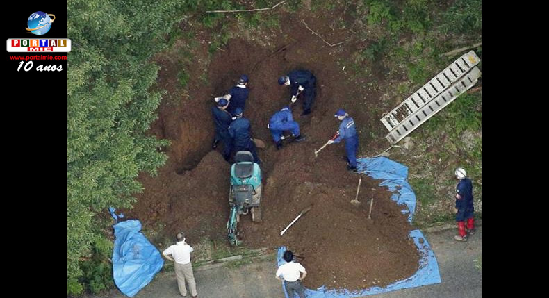 &nbspDois jovens são presos após corpo de mulher ter sido encontrado em montanhas de Shiga