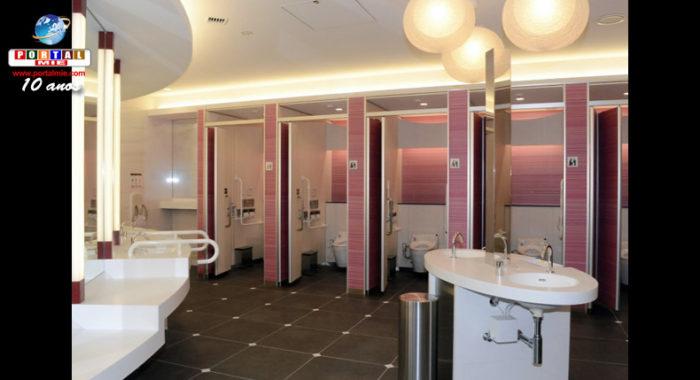 &nbspAeroporto de Narita renovará todos os toilets usados por passageiros
