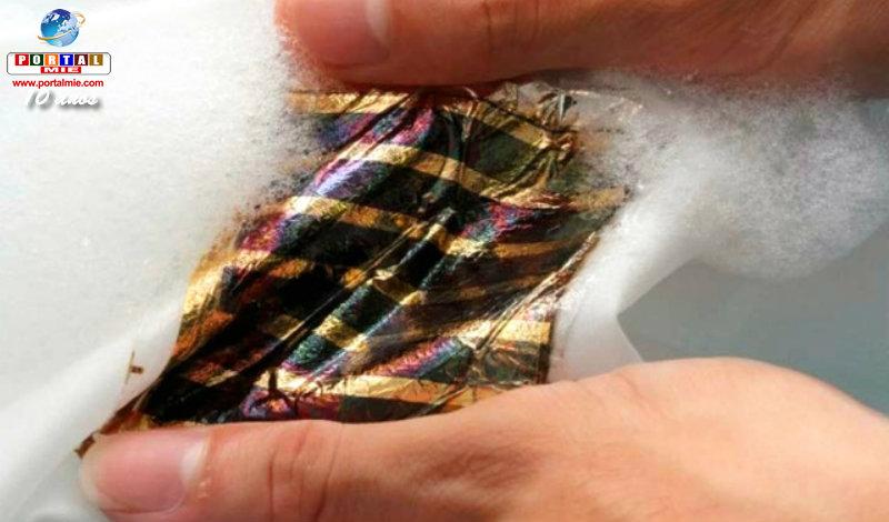&nbspPesquisadores do Japão desenvolvem célula solar ultrafina