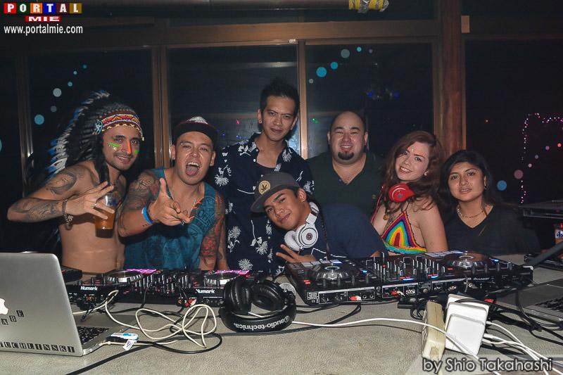 Psychedelic Beach Party 4 no Club Ásia