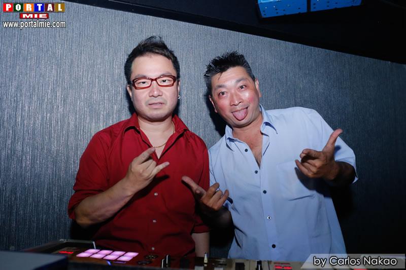 DJs Marcio Ayabe e Mr. Pan beats