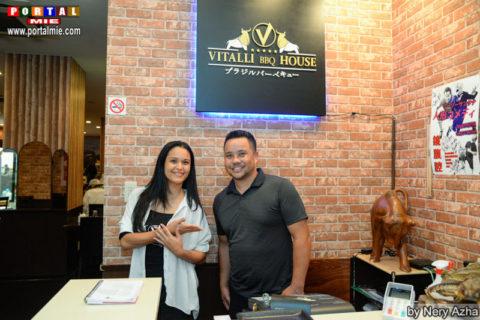 Jessica Fushiki e Willian Vitalli Vitalli