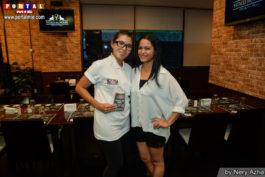 Nery Azha e Jessica Fushiki Vitalli