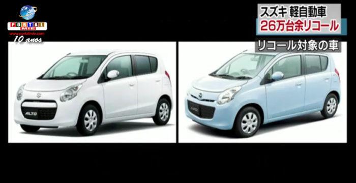 &nbspRecall de 260 mil veículos da Suzuki