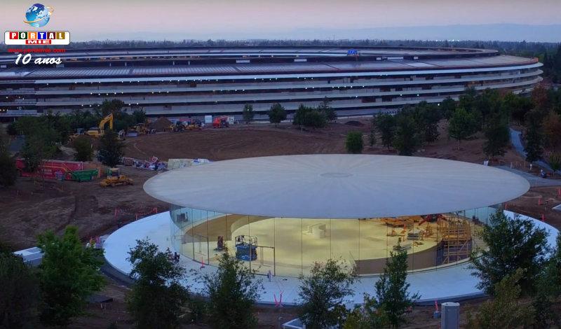 &nbspTeatro Steve Jobs sedia o primeiro de muitos eventos da Apple