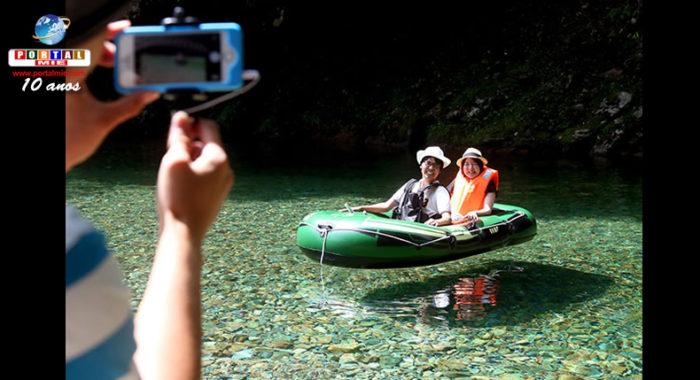 &nbspÁrea de camping em Gifu está atraindo muitos visitantes