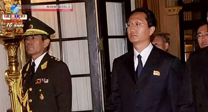 &nbspPeru expulsa embaixador norte-coreano