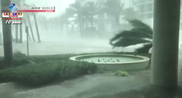 &nbspFuracão Irma deixa mortos na Flórida