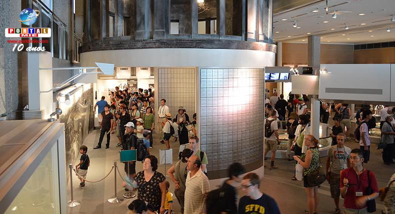&nbspMuseu Memorial da Paz de Hiroshima atinge a marca de 70 milhões de visitantes
