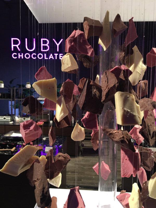 &nbspChocolate naturalmente rosa é lançado para o mundo