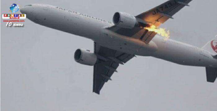 &nbspJAL faz checagem de emergência em suas aeronaves após falha em motor