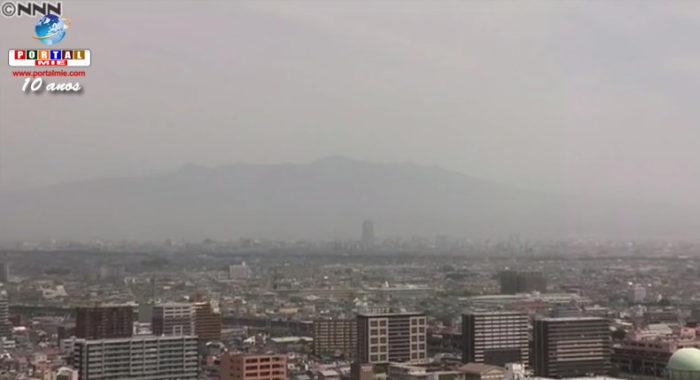 &nbspPesquisadores japoneses confirmam que poeira amarela aumenta o risco de doenças cardíacas