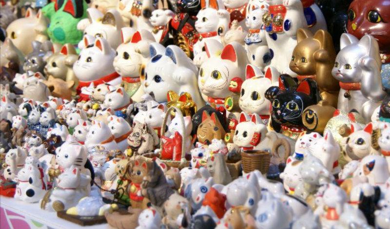 &nbspImperdíveis festivais do maneki neko, o gato da sorte