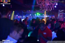 sonic club Casa lotada