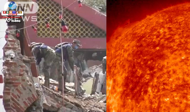 &nbspTerremotos em consequência da erupção solar? Não se pode descartar