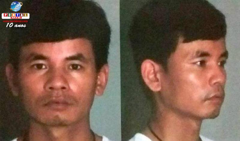 &nbspFim da busca e captura: vietnamita é preso e levado para Oizumi