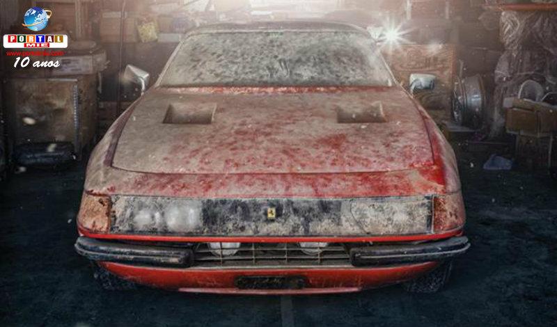 &nbspSurreal: Ferrari fantasmagórica é encontrada em Gifu