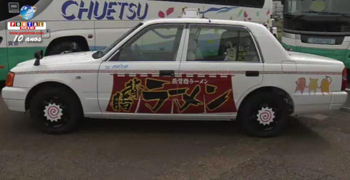 &nbsp'Lámen Táxi': passeio com apresentação de restaurantes