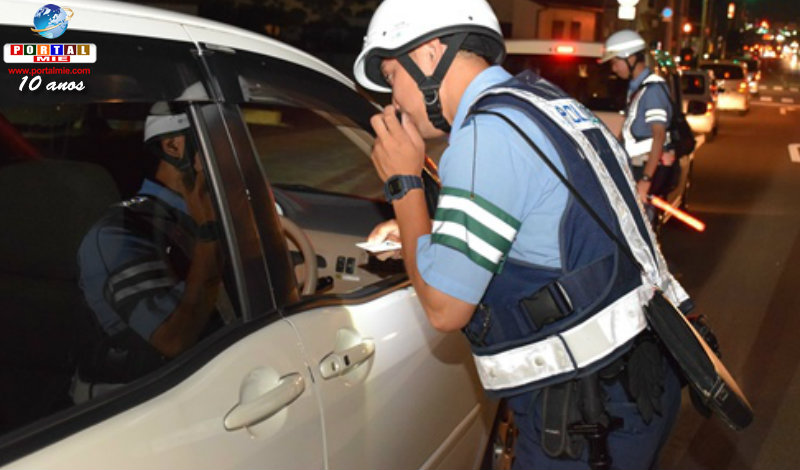 &nbspBrasileira é presa em Aichi por dirigir alcoolizada