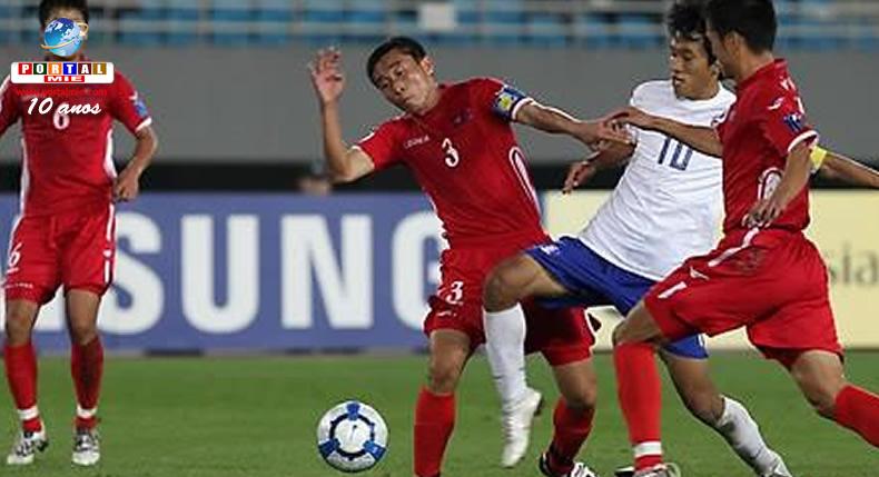 &nbspAustrália proíbe a entrada de time de futebol da Coreia do Norte