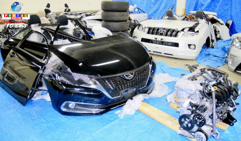 &nbspPrisão de ladrões especializados em carros da Toyota