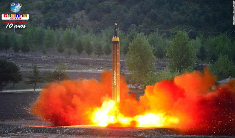 &nbspCoreia do Norte se prepara para lançamento de míssil de longo alcance