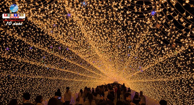 &nbspNabano no Sato: começa temporada com nova iluminação especial