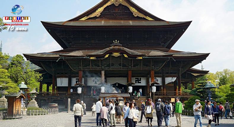 &nbspAto de vandalismo em mais de 100 locais no famoso templo de Nagano