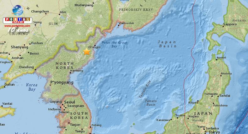 &nbspTerremoto é detectado perto de local de testes na Coreia do Norte