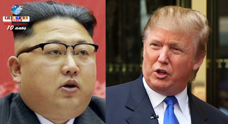 Trump diz que Coreia do Norte