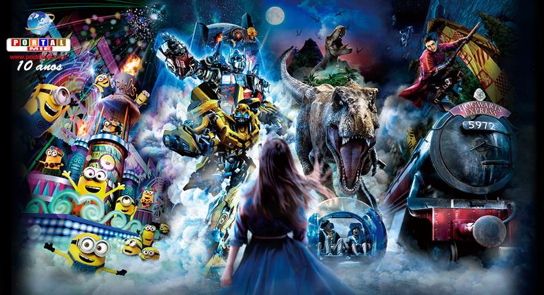 &nbspDesfiles noturnos voltam ao parque Universal Studios Japan