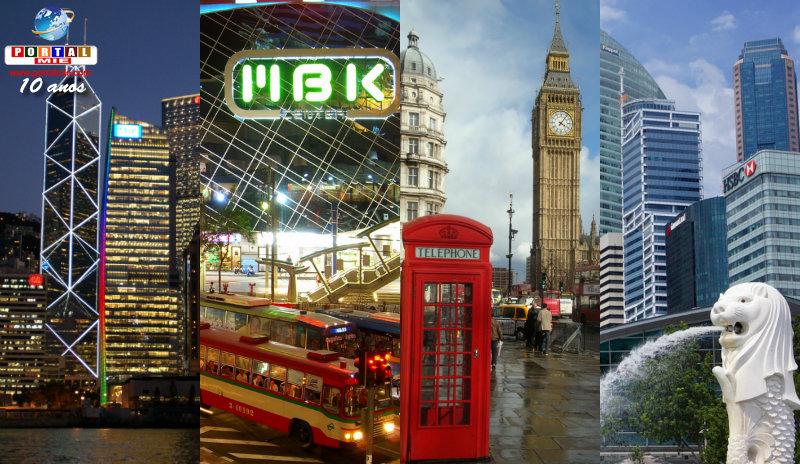 &nbspConfira as metrópoles mais visitadas do mundo
