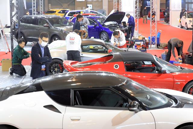 &nbspNagoya Motor Show exibe veículos de 2 e 4 rodas
