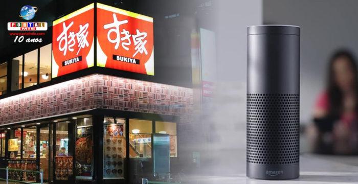 &nbspRestaurantes disponibilizarão serviços de pedidos através do Amazon Echo