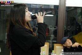 Karimy cantando karaoke villa karaoke villa