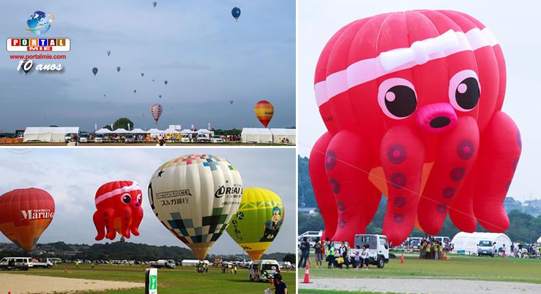 &nbspFestival de balões vai colorir o céu em Suzuka