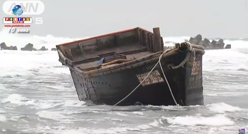 Japão encontra outro barco com corpos em decomposição