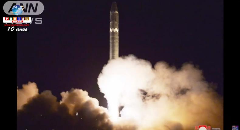 &nbspCoreia do Norte divulga imagens de 'novo' míssil intercontinental