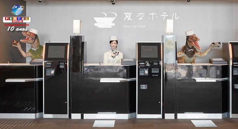 &nbspMais 'hotéis estranhos' com funcionários robôs serão abertos no Japão