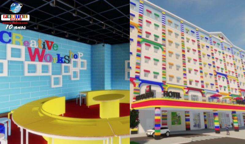 &nbspLegoland anuncia lançamento de hotel e aquário em Nagoia