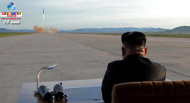 &nbspCoreia do Norte disparou novo míssil balístico que percorreria mais de 10.000 km