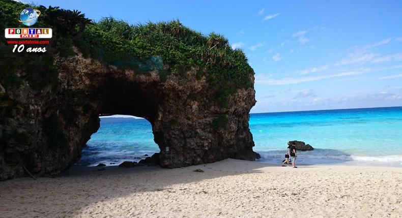 &nbspOkinawa pode ultrapassar o Havaí em número de turistas
