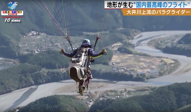 &nbspAventura de parapente nos céus de Shizuoka