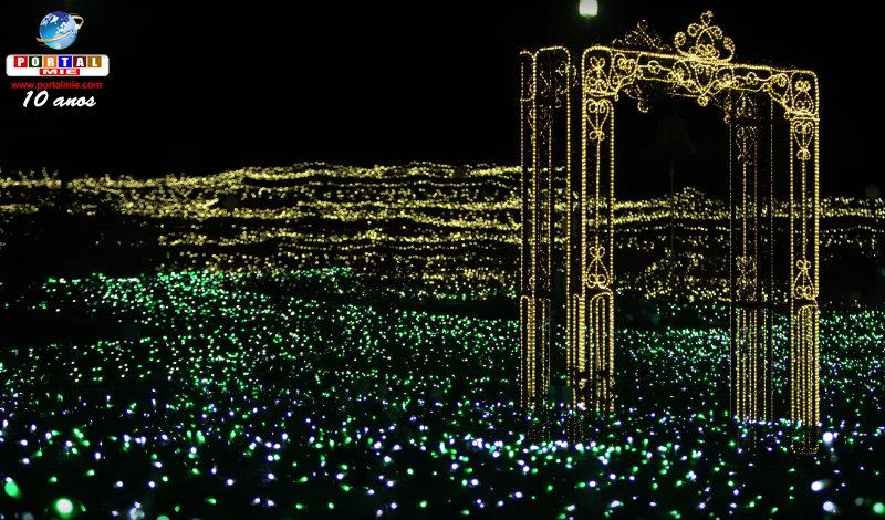 &nbspMundo fantástico de luzes no Flower Park